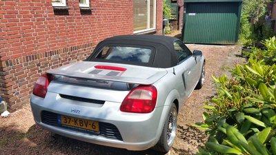 Toyota Mr2 Topline cabriolet dak incl BTW en montage aan huis