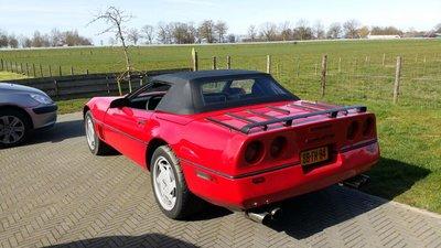 Corvette c4 Topline cabriolet dak incl BTW en montage aan huis.