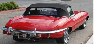 Jaguar E-type cabrio dak incl montage op locatie