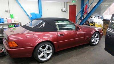 Mercedes SL R129 Sonneland A5 cabrio dak incl BTW en montage aan huis.