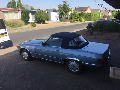 Mercedes SL 107 Topline cabrio dak incl BTW en montage aan huis.