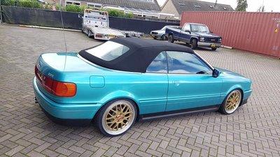 Audi 80 cabriolet dak  incl montage aan huis 995,-