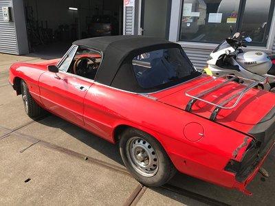 Alfa Spider cabriolet. Economy line cabriolet dak incl BTW en montage aan huis
