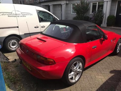 BMW Z3 convertible top including installation on site