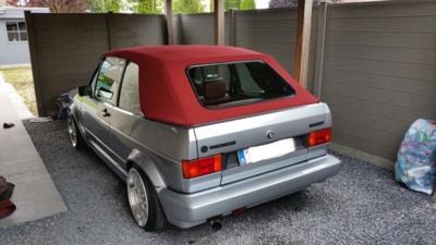 Aanbieding! Golf 1 cabriolet dak incl. montage aan huis