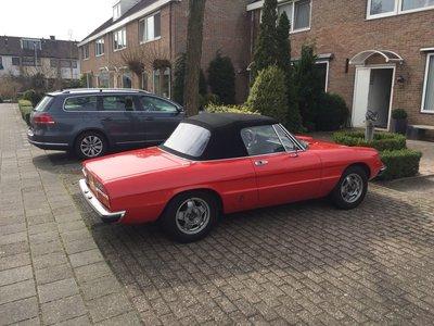 Alfa Spider Sonneland cabriolet dak incl BTW en montage aan huis.