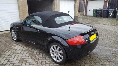 Audi TT topline cabriolet dak incl btw en montage aan huis.