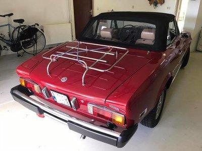Fiat Spider 124 Topline cabriolet dak incl BTW en montage aan huis.