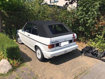 Volkswagen Golf1 Cabriokap incl montage aan huis vanaf 850,-